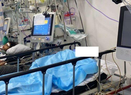 حد مصابي الحادث في العناية المركزة