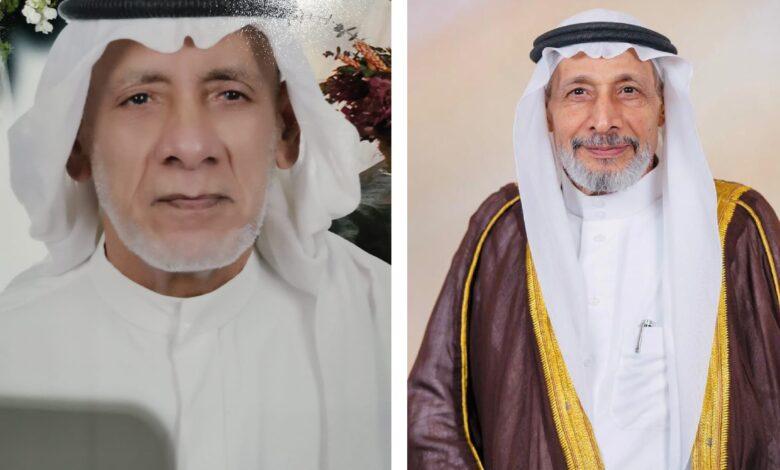 المعلمان: عبدالكريم الزاهر وعبدالله أبو عبدالله.